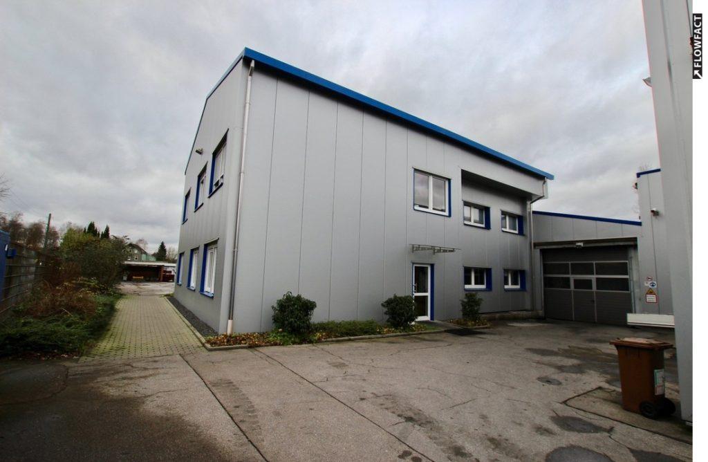 VERKAUFT / Gewerbehallen mit Bürokomplex in Essen-Dellwig