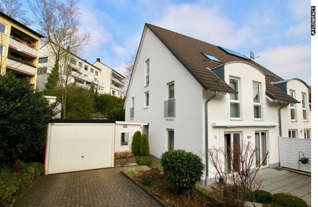 VERKAUFT / Moderne Doppelhaushälfte in zentraler Lage von Herdecke