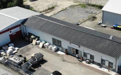 Lagerhalle mit Verkaufsfläche und Betriebsübernahme in zentraler Lage von Selm